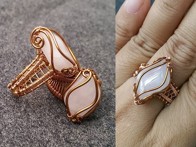 How To Make A Wire Ring Tutorial