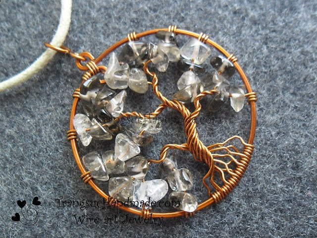 Tutorial simple tree of life how to make wire jewelry 102 tutorial simple tree of life pendant how to make wire jewelry 102 mozeypictures Choice Image