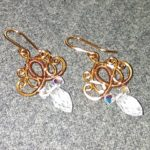 Copper Wire Earring How To Make Wire Jewelry 151